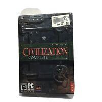 Sid Meier's Civilization III: Complete (PC, 2004)