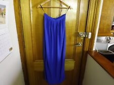 Forever New Blue Maxi Skirt ~ Size 6 ~ As New Worn Once