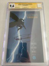 Batman The Dark Knight Returns 1 CGC SS 9.6 Frank Miller