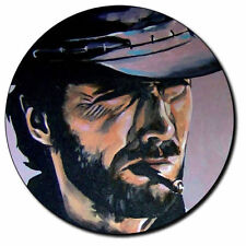 Parche imprimido, Iron on patch /Textil Sticker/ - Clint Eastwood