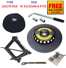 Space Saver Spare Tyre & Wheel with full package for MERCEDES E W213 (2016-2020)