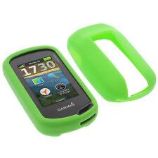 Tasche für Garmin Oregon 600 / 600t / 700 / 750 Schutz Hülle Silikon GPS Grün