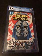 Legion of Super Heroes #294  CGC 9.8 1982 Darkseid Key!