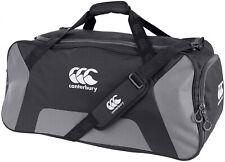 Canterbury Teamwear Holdall Black Grey Durable Gym Sports Training Duffel Bag