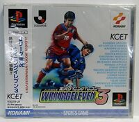 USED PS1 PS PlayStation 1 J-League live Winning Eleven 3