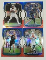 2020 Prizm Football RED WHITE BLUE PRIZMS Parallels You Pick with Rookies