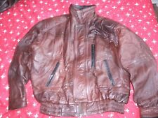 mens top quality size XL handmade in turkey leather jacket.