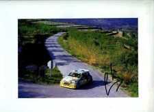 Carlos Sainz Renault Maxi 5 Turbo han movilizado 1986 Firmado fotografía