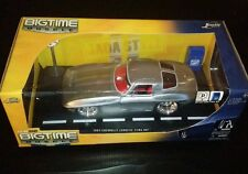 Dub City Bigtime Muscle 1963 Chevrolet Corvette Sting Ray Chevy Jada Toys 1:18