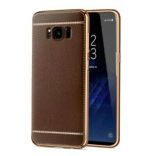 Samsung Galaxy A3 2017 Étui Coque pour Portable Housse Sac Protection Marron