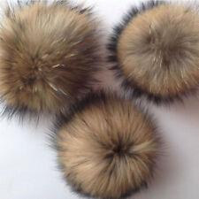10cm Faux Fox Fur Pom Pom Fluffy Ball Hat Bag Shoses Clothes Decor Accessory New
