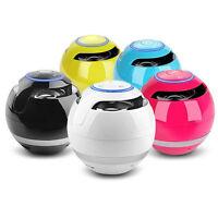 Portable 10W Powerful Wireless Bluetooth Stereo Speaker Support FM Alarm TF USB1