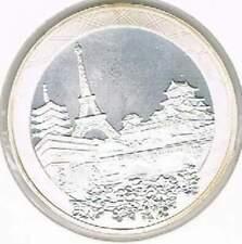 Frankrijk 1 1/2 euro 2008 Proof zilver PP: Betrekkingen Frankrijk-Japan