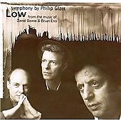 """Philip Glass - """"Low"""" Symphony (Music of David Bowie & Brian Eno)[cd] NEW SEALED"""
