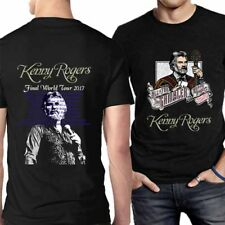 All in for the Gambler Kenny Rogers Final Tour Tee Tshirt 2 Sides Men's T-Shirt