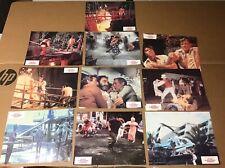 10 German Press Kit WHEN TIME RAN OUT Photo Film Movie Mini Poster Paul Newman.