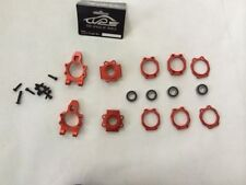 Alloy Rear hub bearing holder set Red fit 1/5 RC HPI baja 5B 5T 5SC