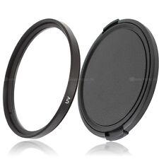 77mm UV Filter & Objektivdeckel lens cap Green.L für 77mm Einschraubanschluss