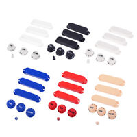 Durable Plastic Closed Electric Guitar Single Coil Pickup Cover Set DIY