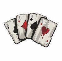 Ass Karten Aufkleber Auto Sticker Hand Poker Motorrad Casino Flush Casino Asse