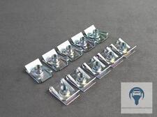 10X M6 BEFESTIGUNGSKLAMMER BLECHMUTTER KÜHLER FÜR AUDI VW SEAT SKODA N90168602