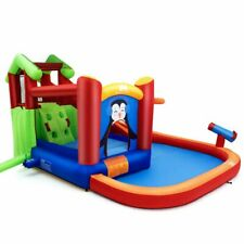 Inflatable Slide Bouncer and Water Park Bounce House