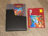 Karnov w/Manual & Sleeve Nintendo Nes Cleaned & Tested Authentic