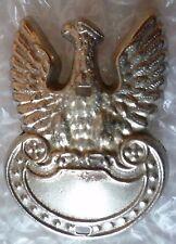 Badge- VINTAGE Poland Polish Eagle Cap Badge (WM*)