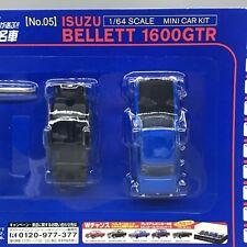 DyDo Isuzu Bellett 1600 GTR Blue 1/64 Scale Box Mini Toy Car Display