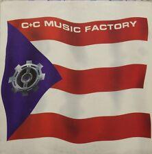 DISCO 45 GIRI MAXI     C&C MUSIC FACTORY - MUSICA ES MY VIDA