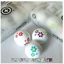 Vision Sampler Pack - 6 x Goker DAISY 3 pce Golf Balls