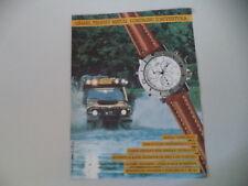 advertising Pubblicità 1990 CAMEL TROPHY WATCH SUPERCHRONO