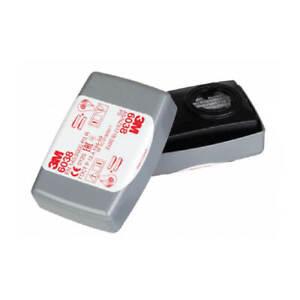 3M Cartridge Filter 6038 P3 R Particulate Dust Vapour Liquid Gas Particles