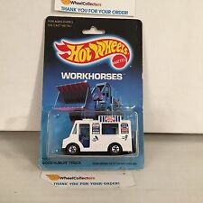 #7 Good Humor Truck 5904 White * Malaysia 1986 * Hot Wheels * J11