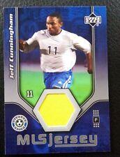 2005 Upper Deck MLS Game Worn Insert - Jeff Cunningham