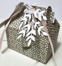 Stanzschablone/ Cutting dies Süßigkeiten Kekse Lunch Box Geschenkschachtel