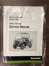 Kawasaki Mule 600 & Mule 610 Service Manual - Fits 2005-2016 - Genuine Kawasaki (Fits: Kawasaki)