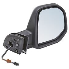Peugeot Partner 2008-2012 Electric Wing Door Mirror Black Cover Drivers Side