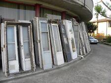 Vecchie porte finestre stile ideali per bricolage Prezzo per la coppia Vintage