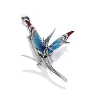 Franz Porcelain - Rhodium Pin - Butterfly