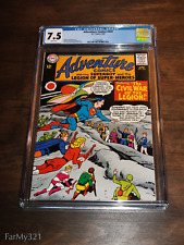 Adventure Comics #333 CGC 7.5 BRIGHT White Pages Solid Very Nice. Top 23 graded!