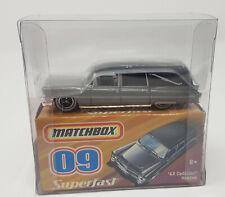Matchbox NSF New Superfast 2008 #9 1963 Cadillac Hearse Whitewall tri spoke MIB