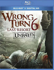 Wrong Turn 6 (Blu-ray Disc, 2014, Unrated Includes Digital Copy)