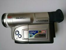 SAMSUNG VP-L750D CAMCORDER HI8 ANALOGUE VIDEO 8MM VIDEO8 TAPE. WITH BAG & REMOTE