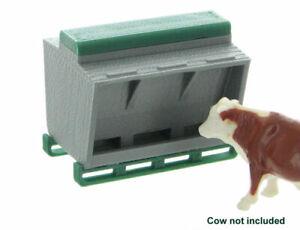 1:64 Livestock feeder 3D to Scale Diorama Display Farm