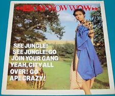 Bow Wow Wow - See Jungle UK LP Personally Autographed by Annabella Lwin inc COA