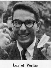 1962 Yale Law School Yearbook~Photos~History~Clubs~Alan Dershowitz~Litigants~++