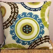 Swavelle/Mill Creek Taraz Spring Fabric Pillow Case/cover 18x18