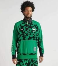 Nike Sportswear Mens NYC Parks 1/2 Zip Top Warm Sweater Green Size XL CU1394-302