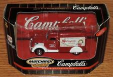 "NIB 2000 MATTEL MATCHBOX COLLECTIBLES 4.5"" 1937 DODGE AIRFLOW ""CAMPBELL'S SOUPS"""
